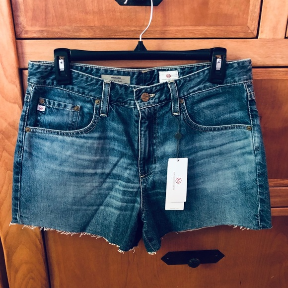 Ag Adriano Goldschmied Pants - AG Jeans - Sadie High Rise Denim Shorts - NWT